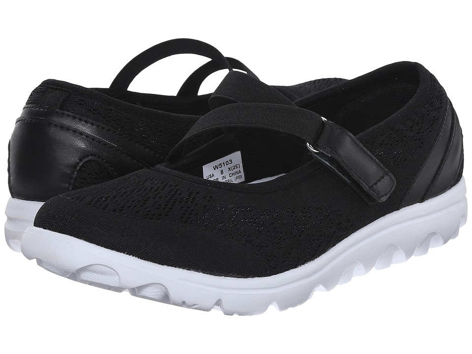 Propet TravelActiv Mary Jane (Black) Women's Shoes
