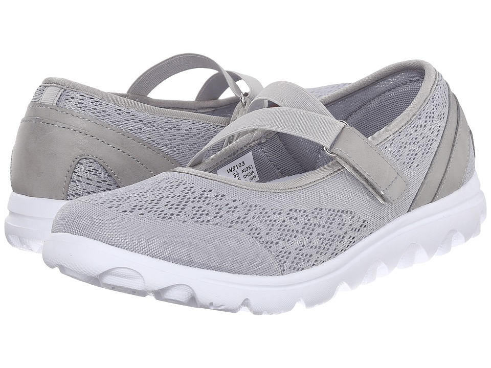 Propet - TravelActiv Mary Jane (Silver) Women's Shoes