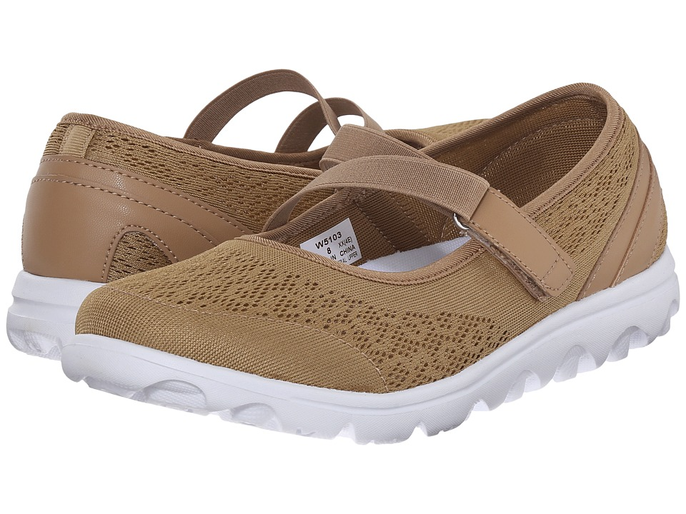 Propet TravelActiv Mary Jane (Honey) Women's Shoes