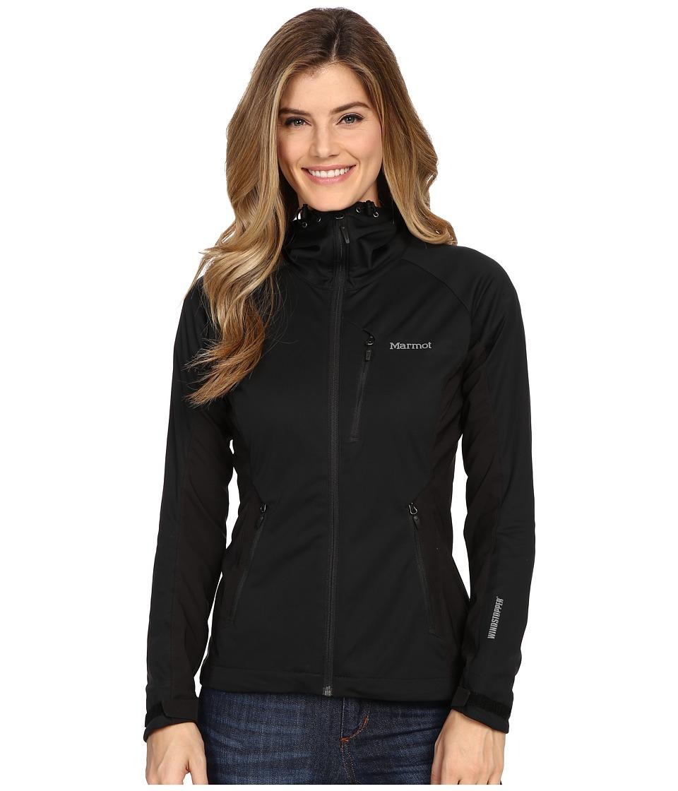 Marmot ROM Jacket (Black) Women's Clothing