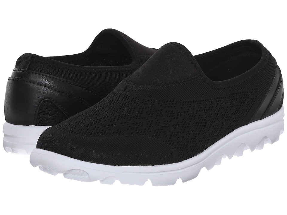 Propet TravelActiv Slip-On (Black) Women