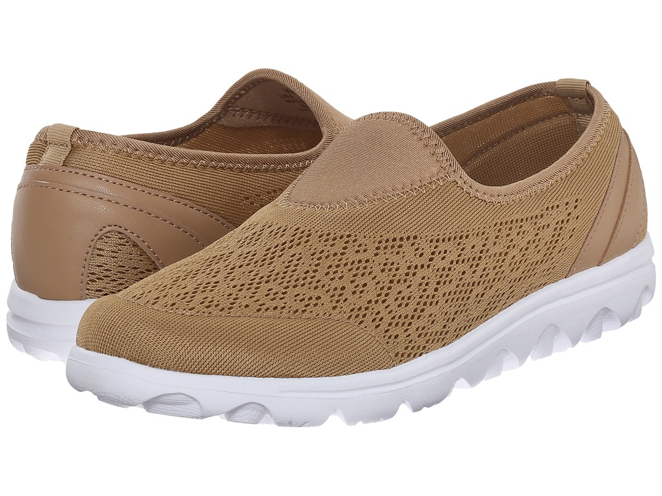 Propet TravelActiv Slip-On (Honey) Women