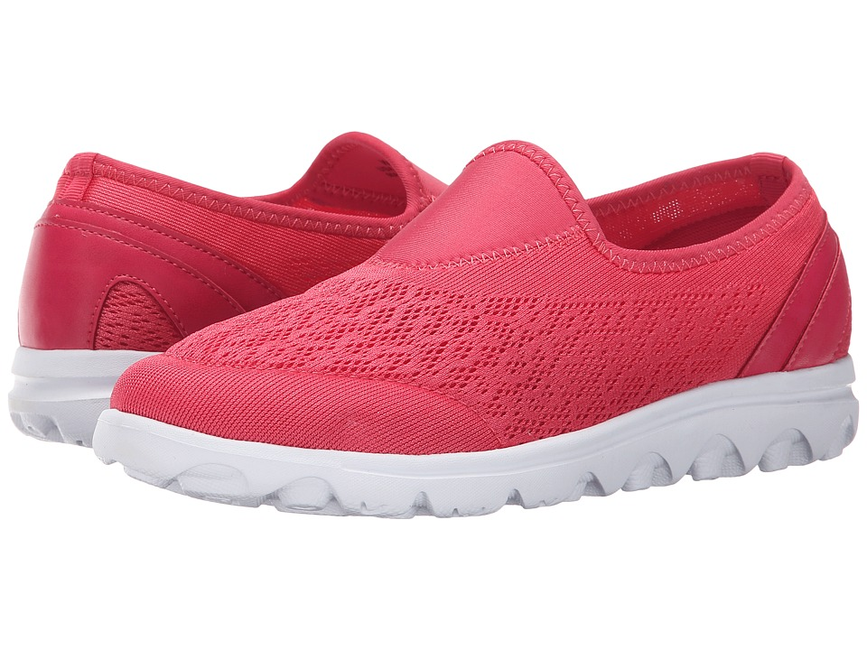 Propet TravelActiv Slip-On (Watermelon Red) Women
