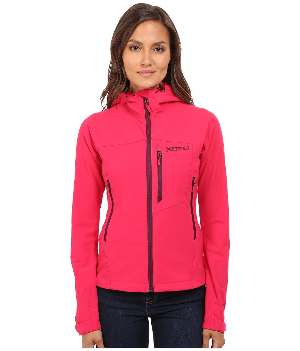 Marmot Estes Hoodie Raspberry Womens Sweatshirt