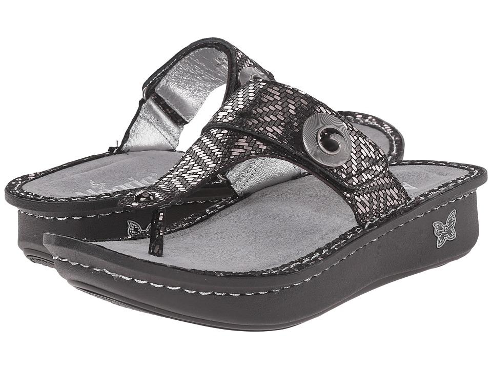Alegria Carina (Pewter Dazzler) Sandals