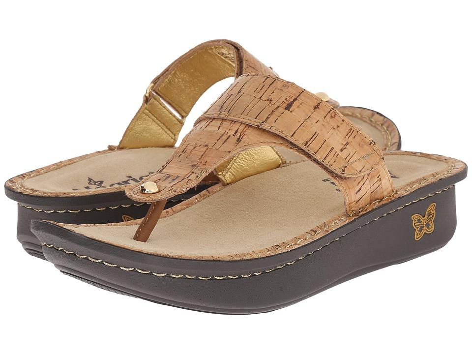 Alegria Carina Cork Womens Sandals