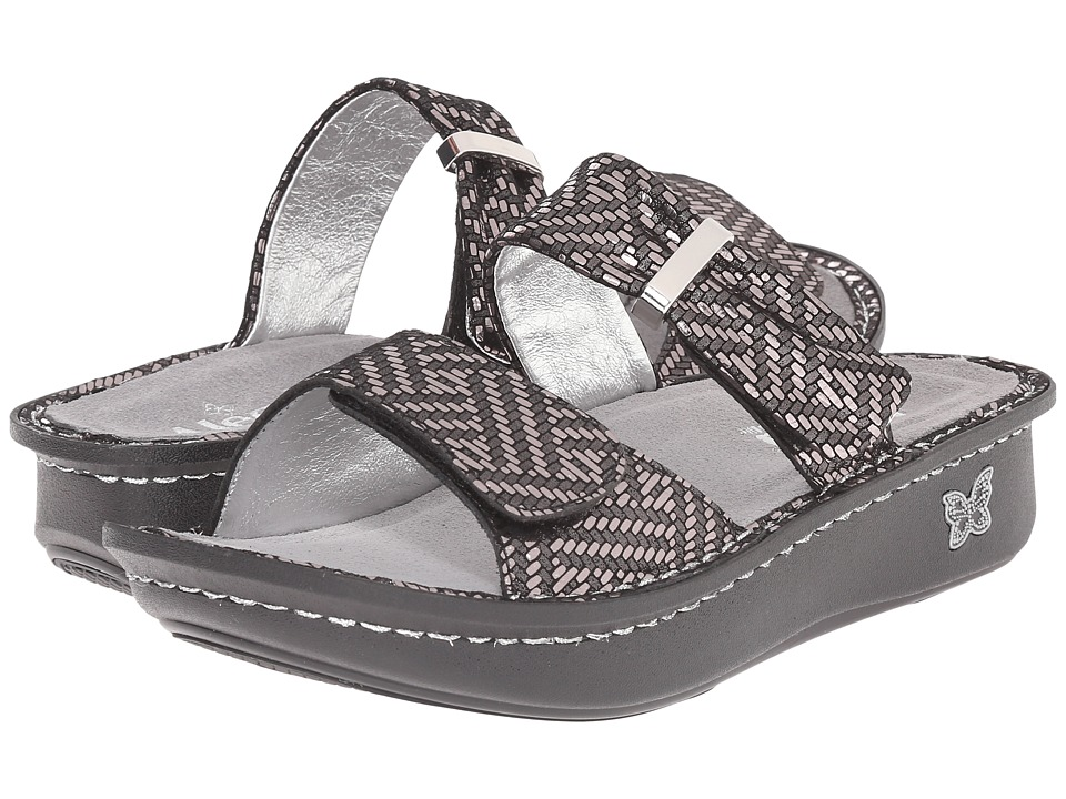 Image of Alegria - Karmen (Pewter Dazzler) Women's Sandals