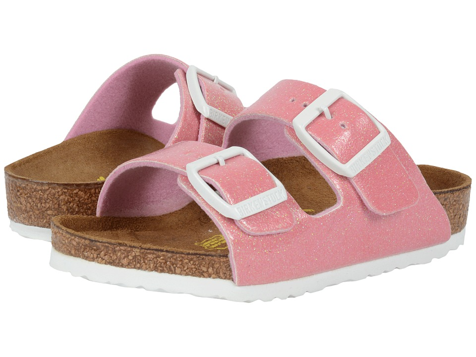 Birkenstock Kids Arizona Toddler/Little Kid/Big Kid Magic Galaxy Pink Birko Flor Girls Shoes