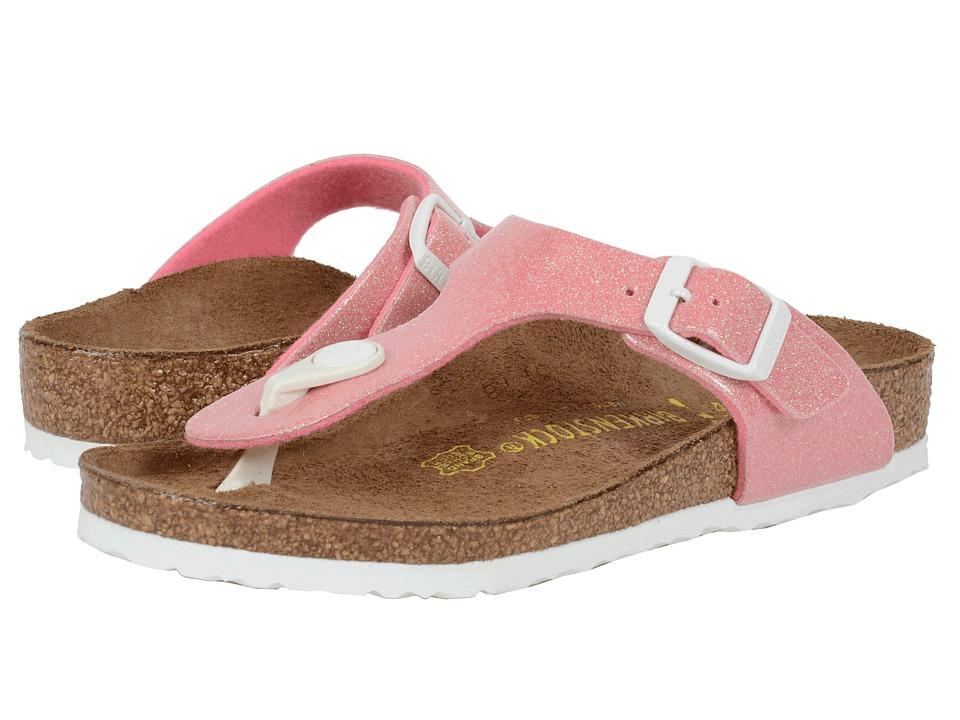 Birkenstock Kids Gizeh Little Kid/Big Kid Magic Galaxy Pink Birko Flor Girls Shoes