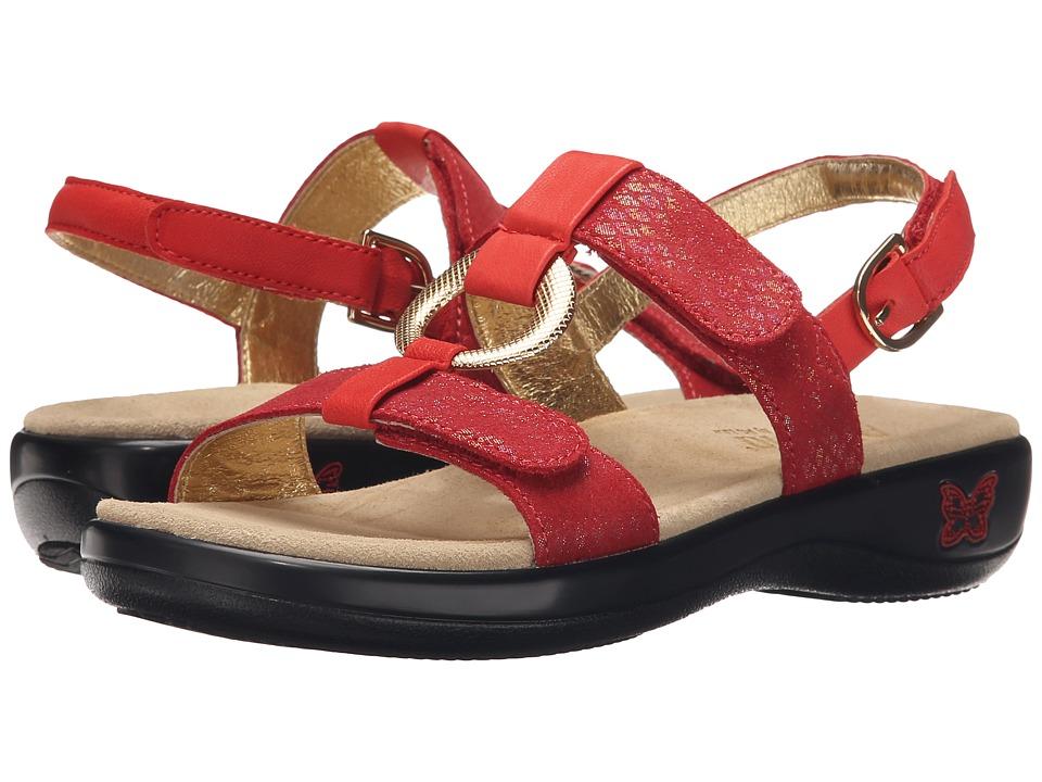 Alegria Julie Cherry Womens Sandals