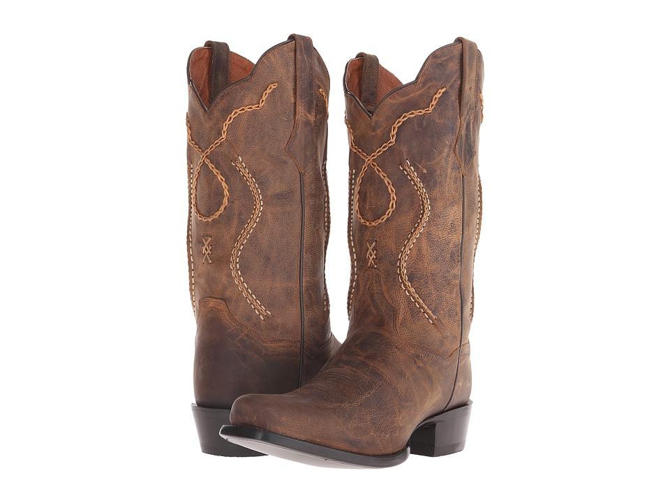 Dan Post Albany 7 (Brown) Cowboy Boots