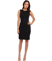 Calvin Klein - Sheath Dress w/ Novelty Panel