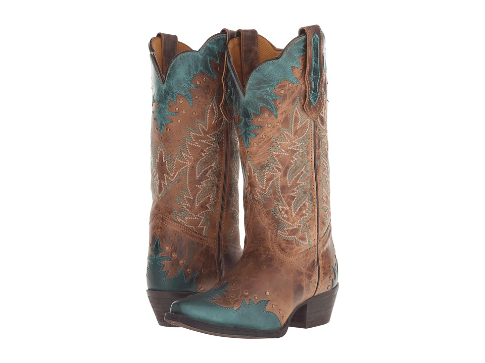 Laredo - Antiqua (Brown) Cowboy Boots