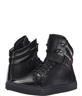 The Kooples - Grained Leather Sneakers