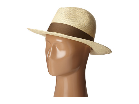 Hat Attack Panama Continental - Natural/Mocha