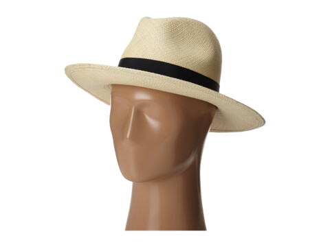 Hat Attack Panama Continental - Natural/Navy