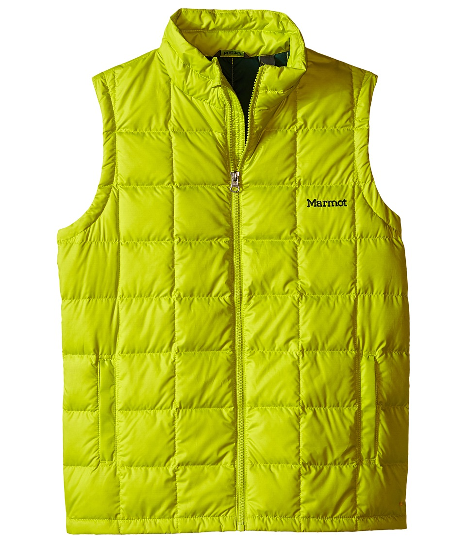 Marmot Kids Ajax Vest Little Kids/Big Kids Bright Lichen Boys Vest
