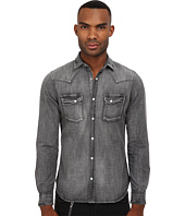 The Kooples - Washed Black Denim Shirt