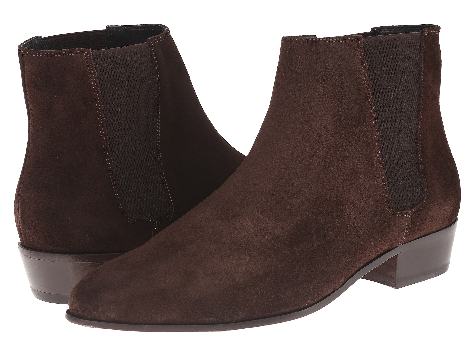 the kooples split leather chelsea boot