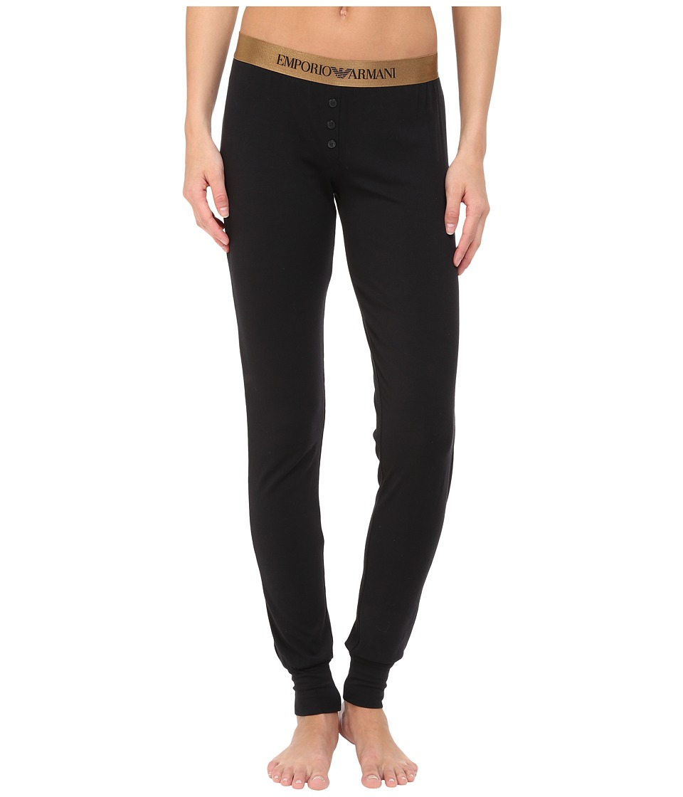 Emporio Armani - Visibility Cotton Modal Reg Fit Pants