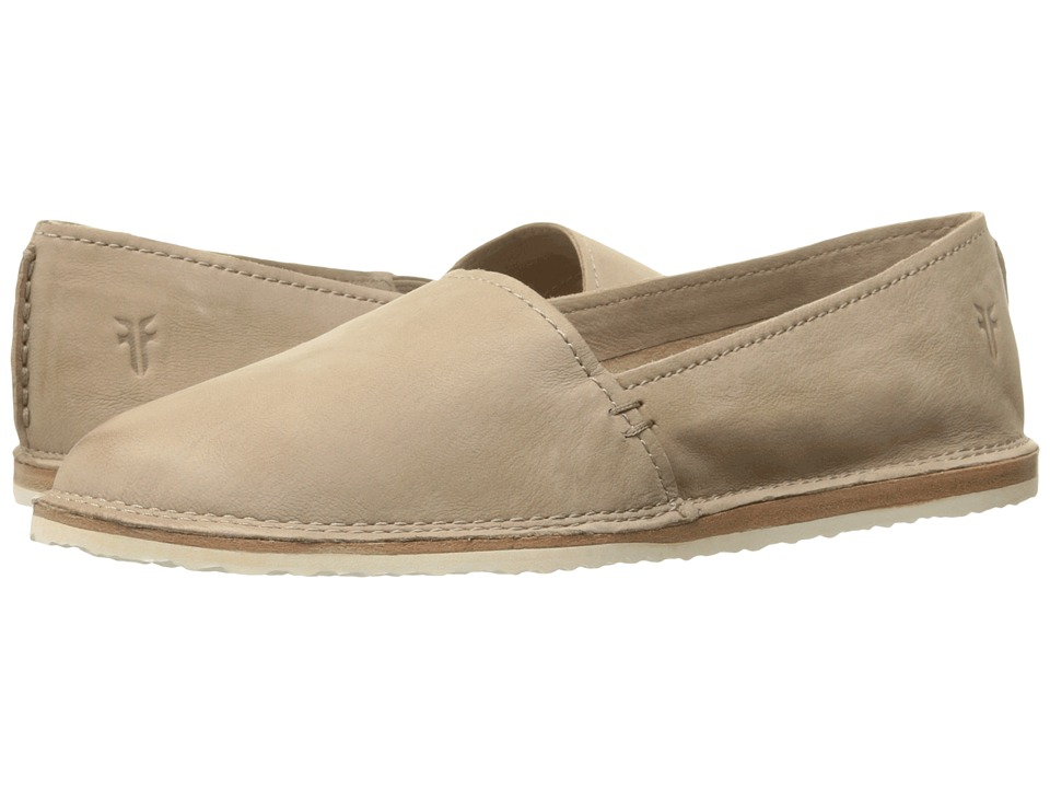 Frye Milly A Line Cement Soft Oiled Nubuck Womens Slip on Shoes