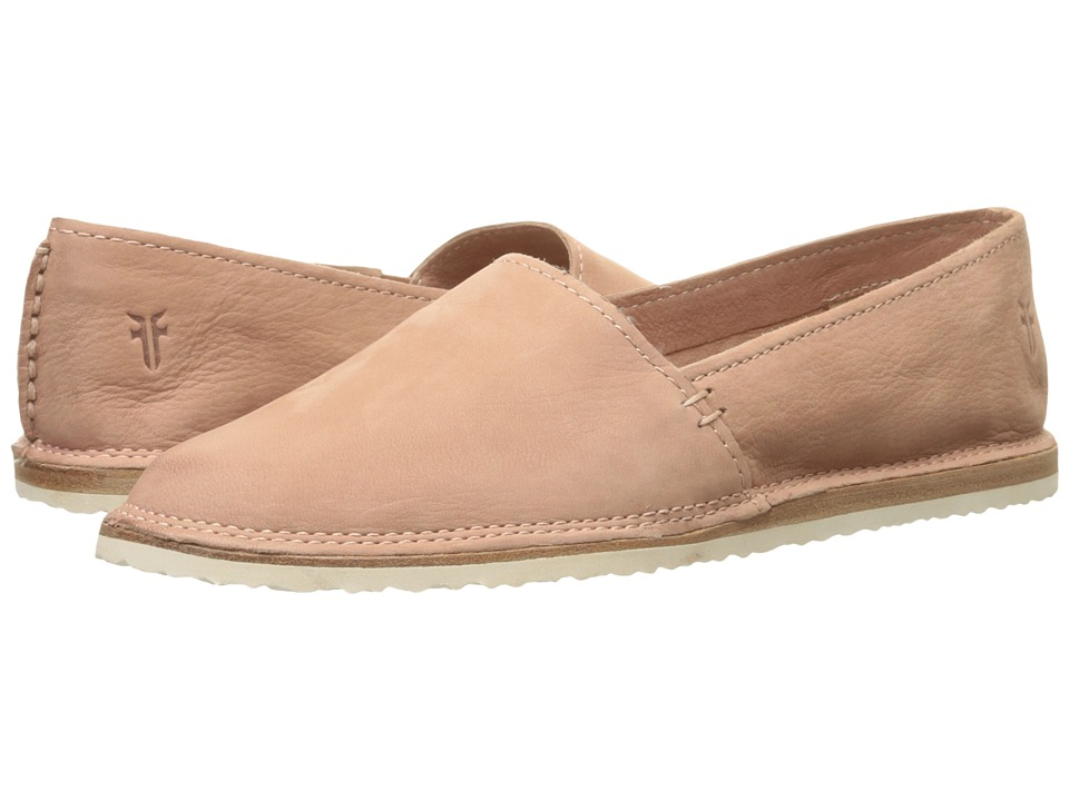 Frye Milly A Line Dusty Rose Soft Oiled Nubuck Womens Slip on Shoes