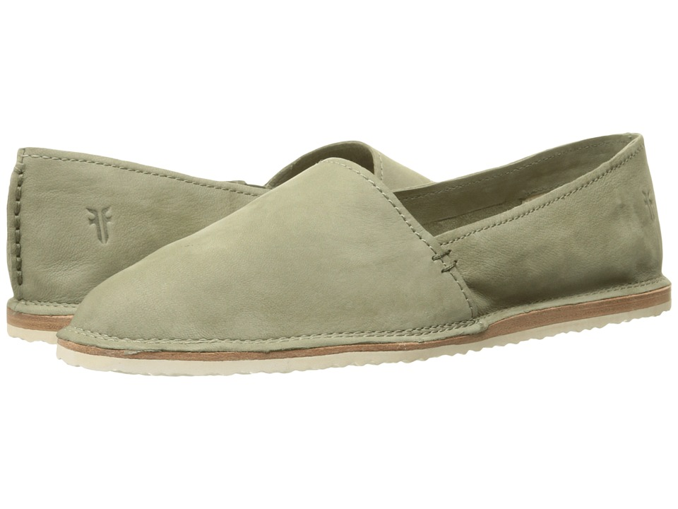 Frye Milly A Line Sage Soft Oiled Nubuck Womens Slip on Shoes