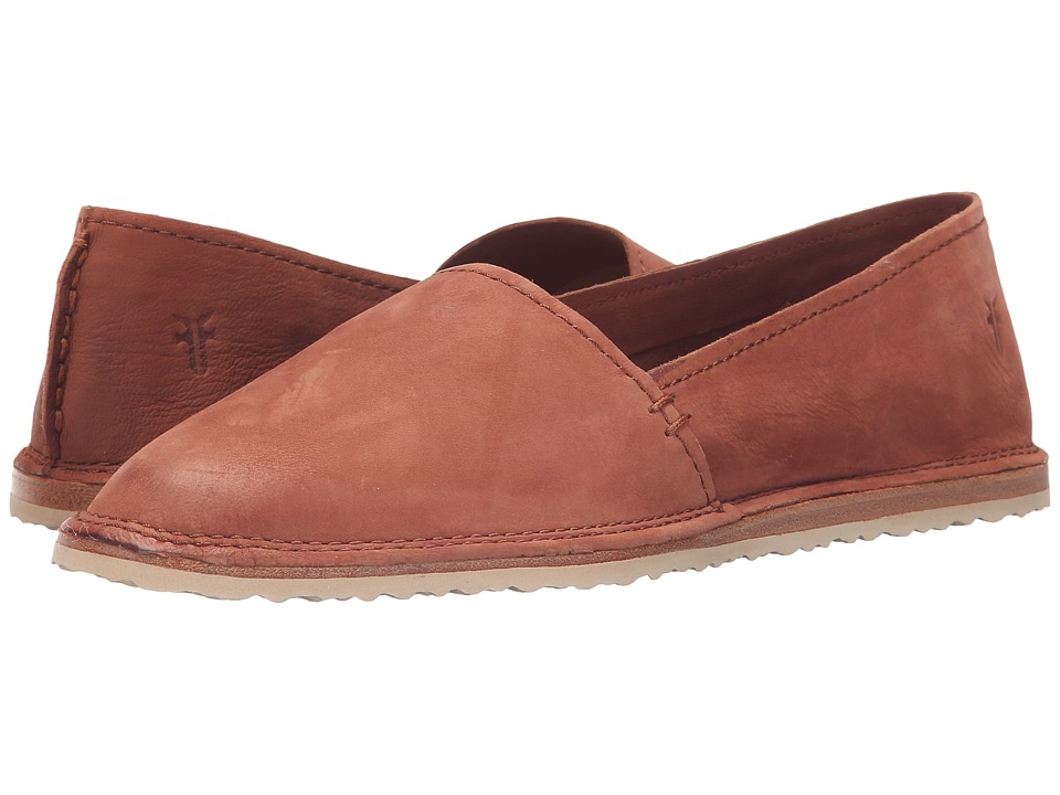 Frye Milly A Line Whiskey Soft Oiled Nubuck Womens Slip on Shoes