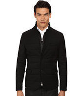 The Kooples - Sport Melange Flannel Down Blazer