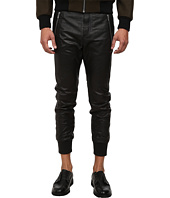 The Kooples - Sport Light Smooth Leather Pants