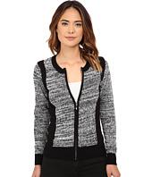 Olive & Oak - Zip Front Sweater Cardi
