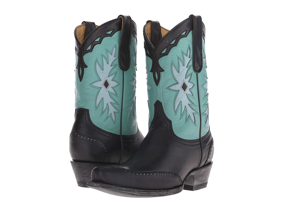 Old Gringo Miesha (Black/Turquoise) Cowboy Boots
