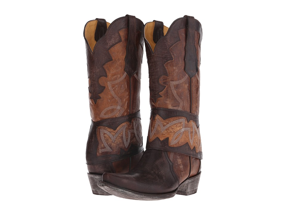 Old Gringo Babero Chocolate Cowboy Boots