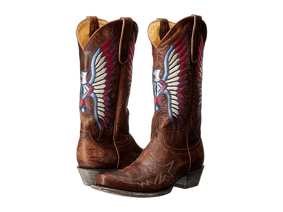 OLD GRINGO America Eagle (Brass) Cowboy Boots