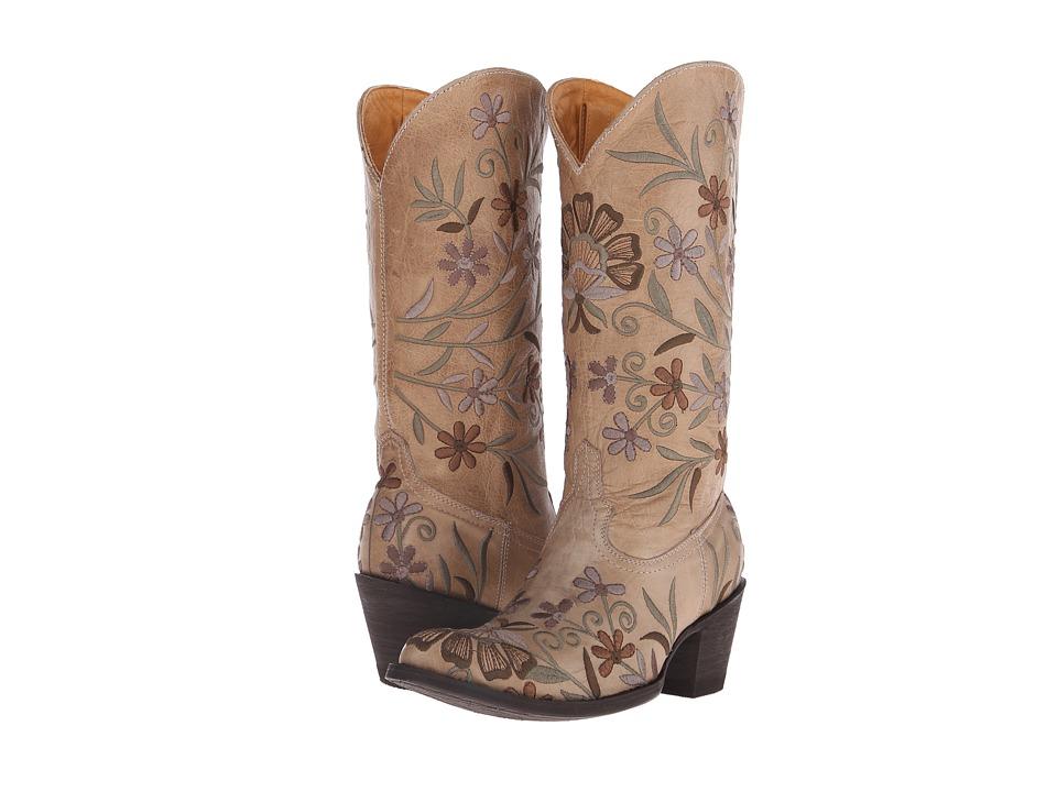 Old Gringo - Jenny (Bone) Cowboy Boots