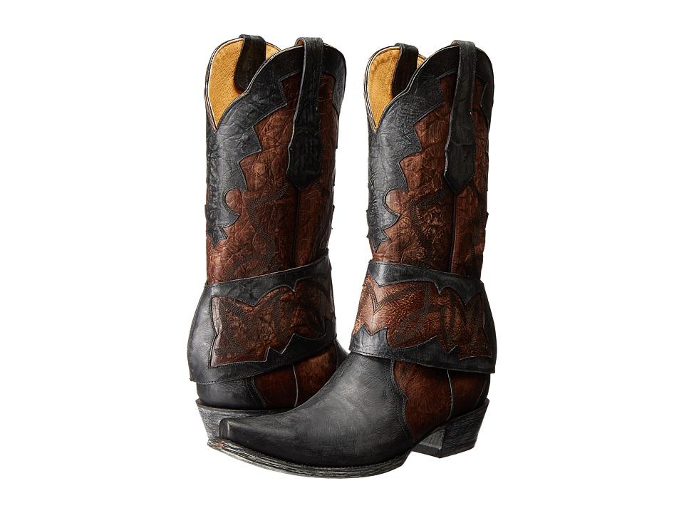 Old Gringo Babero Black Cowboy Boots