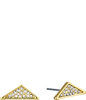 Rebecca Minkoff - Crystal Pave Triangle Earrings