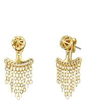 Rebecca Minkoff - Front To Back Caged Stud Earrings