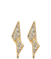 Rebecca Minkoff - Crystal Pave Double Triangle Earrings