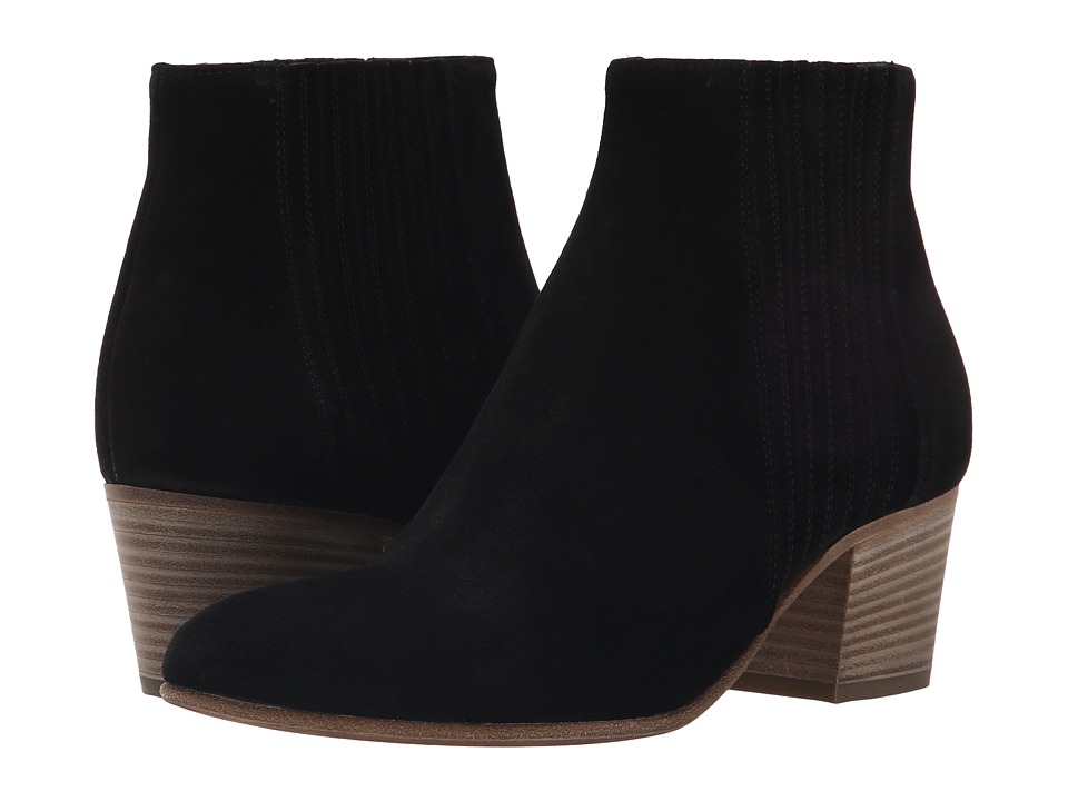 Vince Haider Black Sport Suede Womens Boots