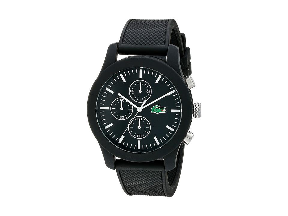 Lacoste 2010821 12.12 Black/Black Watches