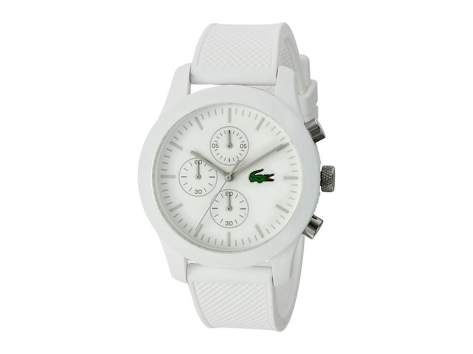Lacoste 2010823 12.12 White/White Watches