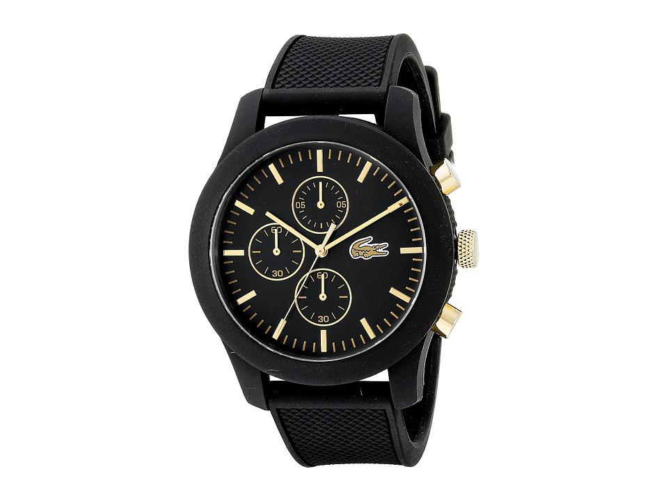 Lacoste 2010826 - 12.12 (Black/Black) Watches
