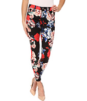 7 For All Mankind - The Mid Rise Ankle Skinny in Peony Floral