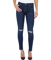7 For All Mankind - The Ankle Skinny w/ Knee Holes in Slim Illusion Stunning Seville 2