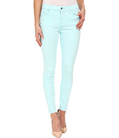 7 For All Mankind - The Mid Rise Ankle Skinny in Lucite Blue