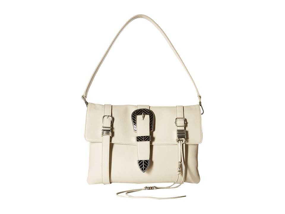 Barbara Bonner Ellie Clutch Strap Cream Clutch Handbags