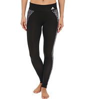 adidas - Clima Studio Mid Rise Animal Print Long Tights