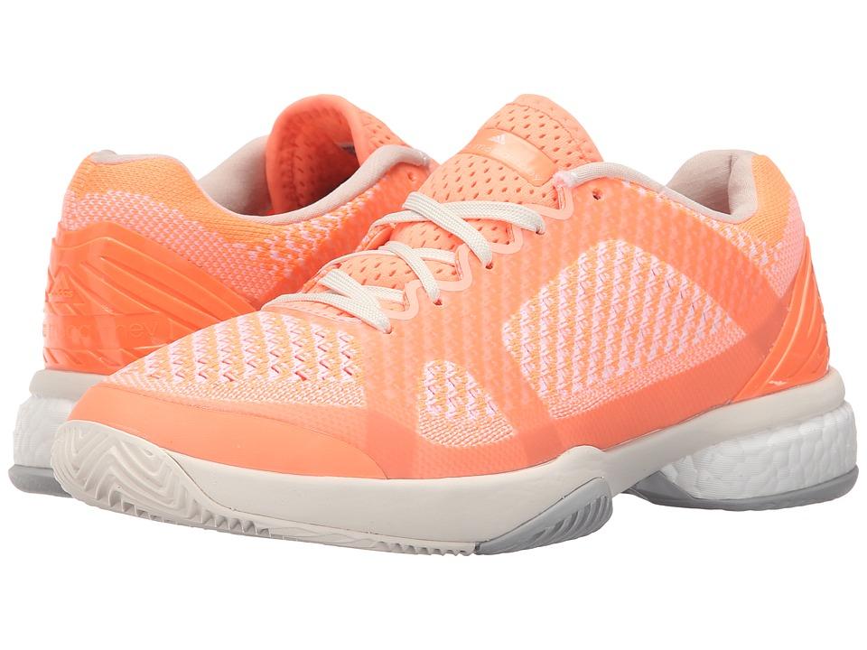 adidas by Stella McCartney Stella Barricade Boost (Ultra Bright/Chalk What/Light Flash Orange) Women