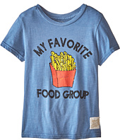 The Original Retro Brand Kids - Favorite Food Group Short Sleeve Tee (Little Kids/Big Kids)